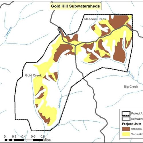 Gold Hill Project Map